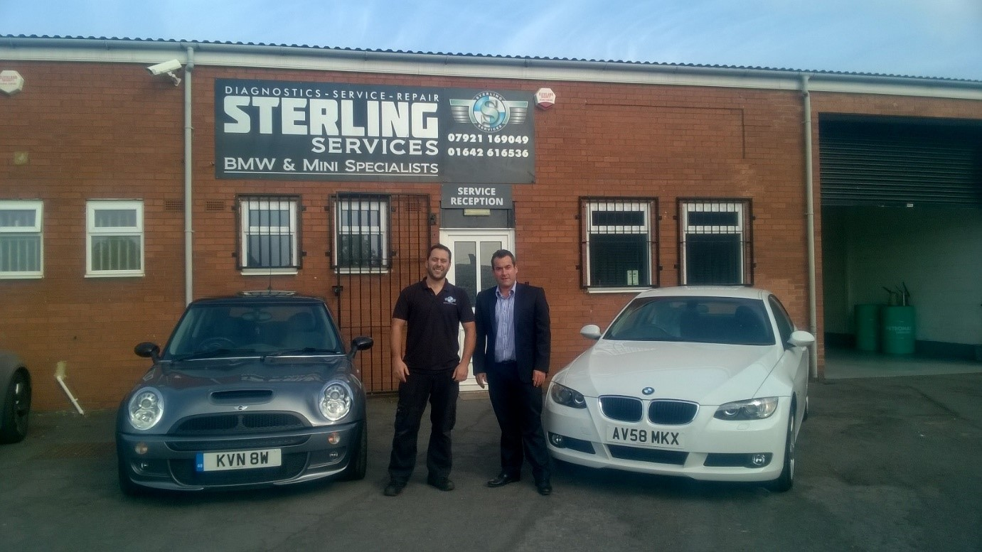 Nick Dowson, Sterling Services l Tim Carter, CPNE